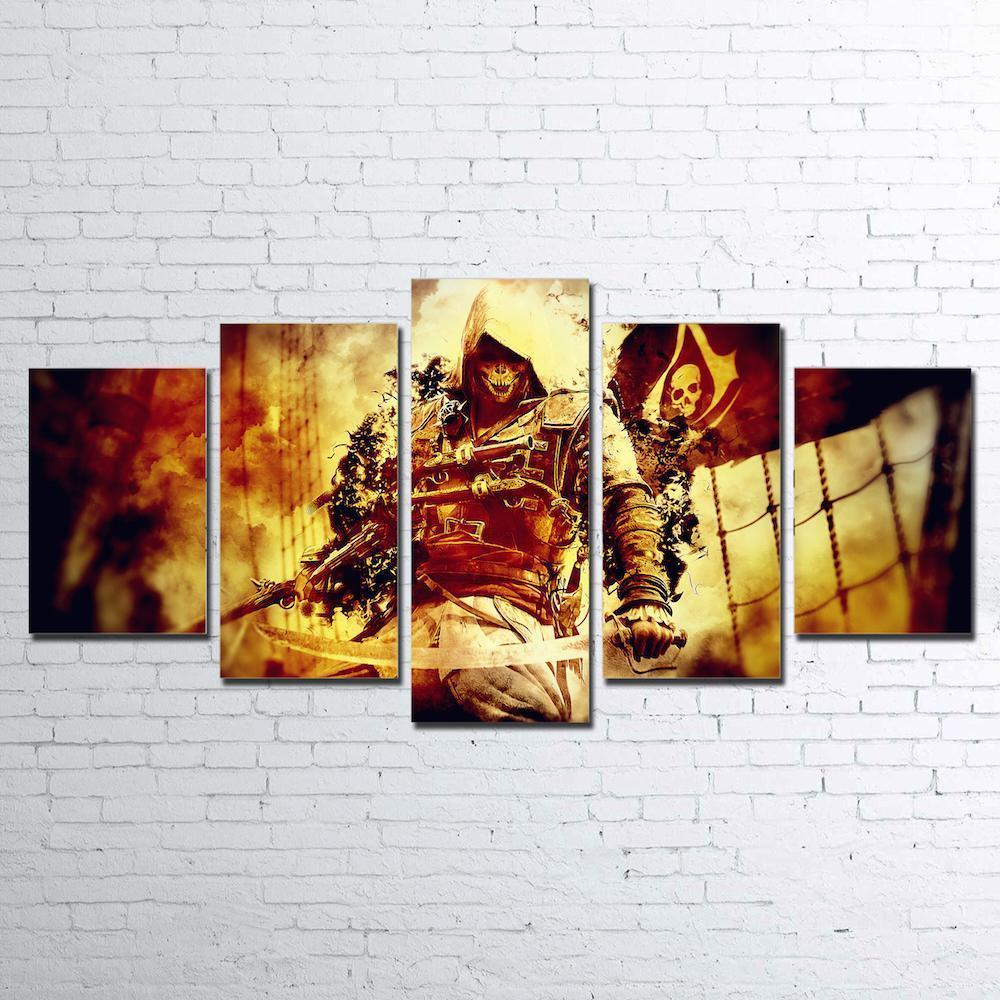 Canvas - Pirate's Curse 5 Piece Canvas Set
