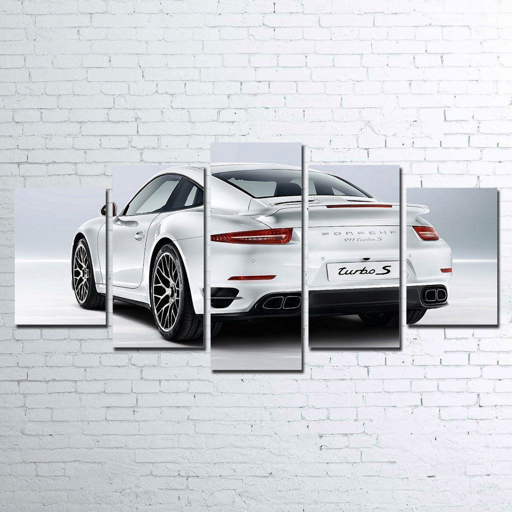 Canvas - Porsche 911 Turbo S - 5 Piece Canvas Set