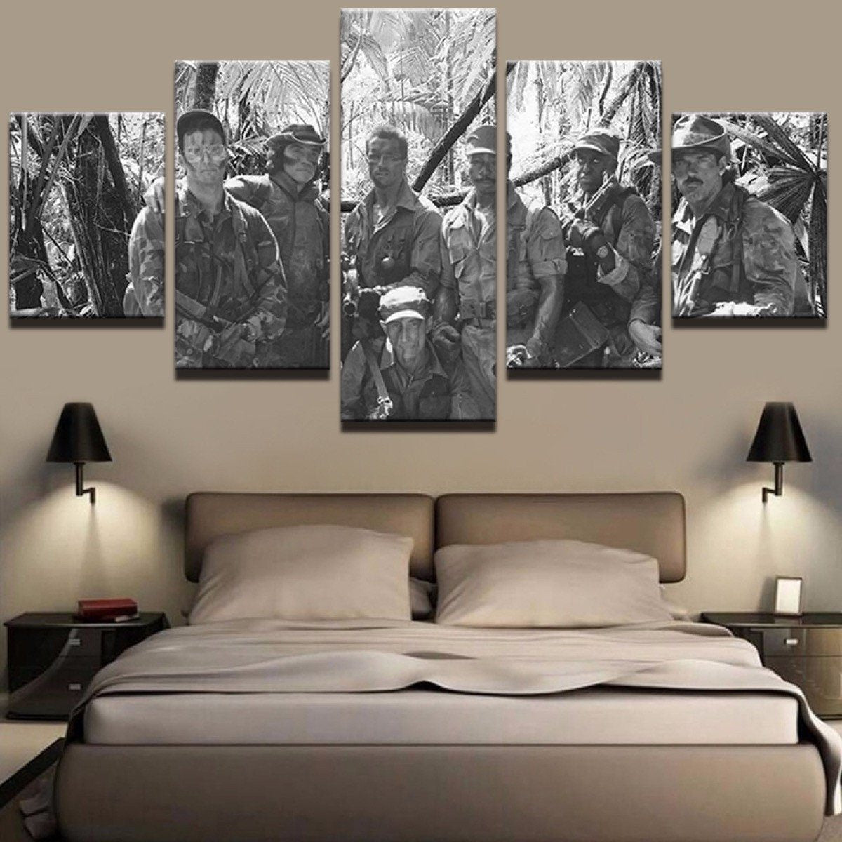 Canvas - Predator Crew 5 Piece Canvas