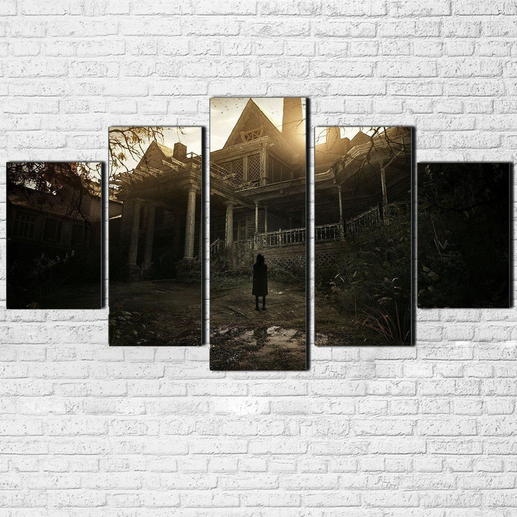 Canvas - Resident Evil 5 Piece Canvas