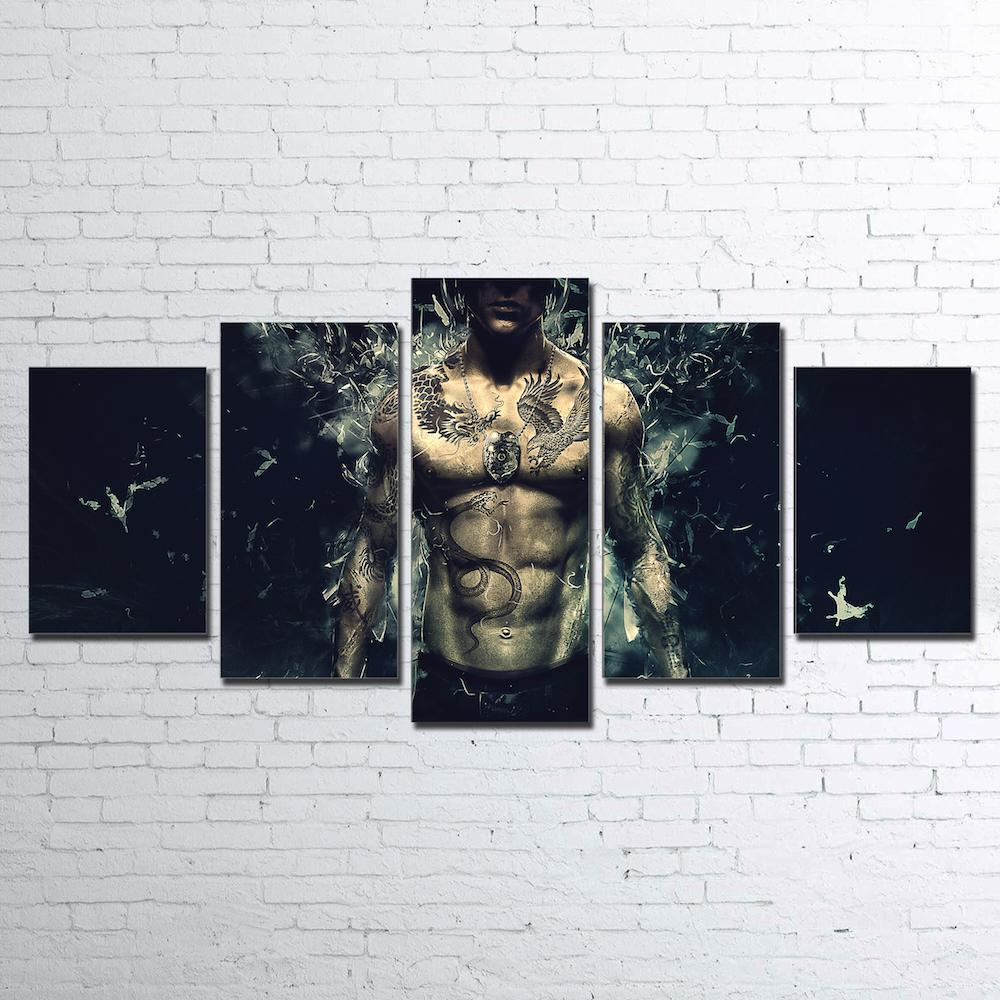 Canvas - Sleeping Dogs 5 Piece Canvas Set