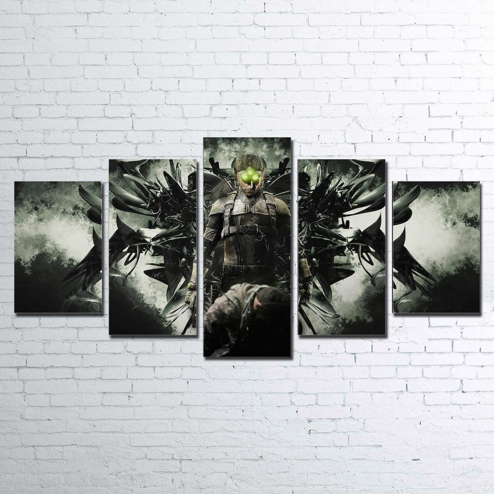 Canvas - Splinter Cell 5 Piece Canvas Set