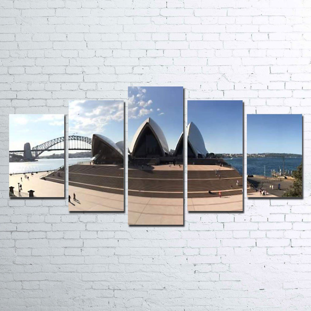Canvas - Sydney Opera House 5 Piece Canvas Set