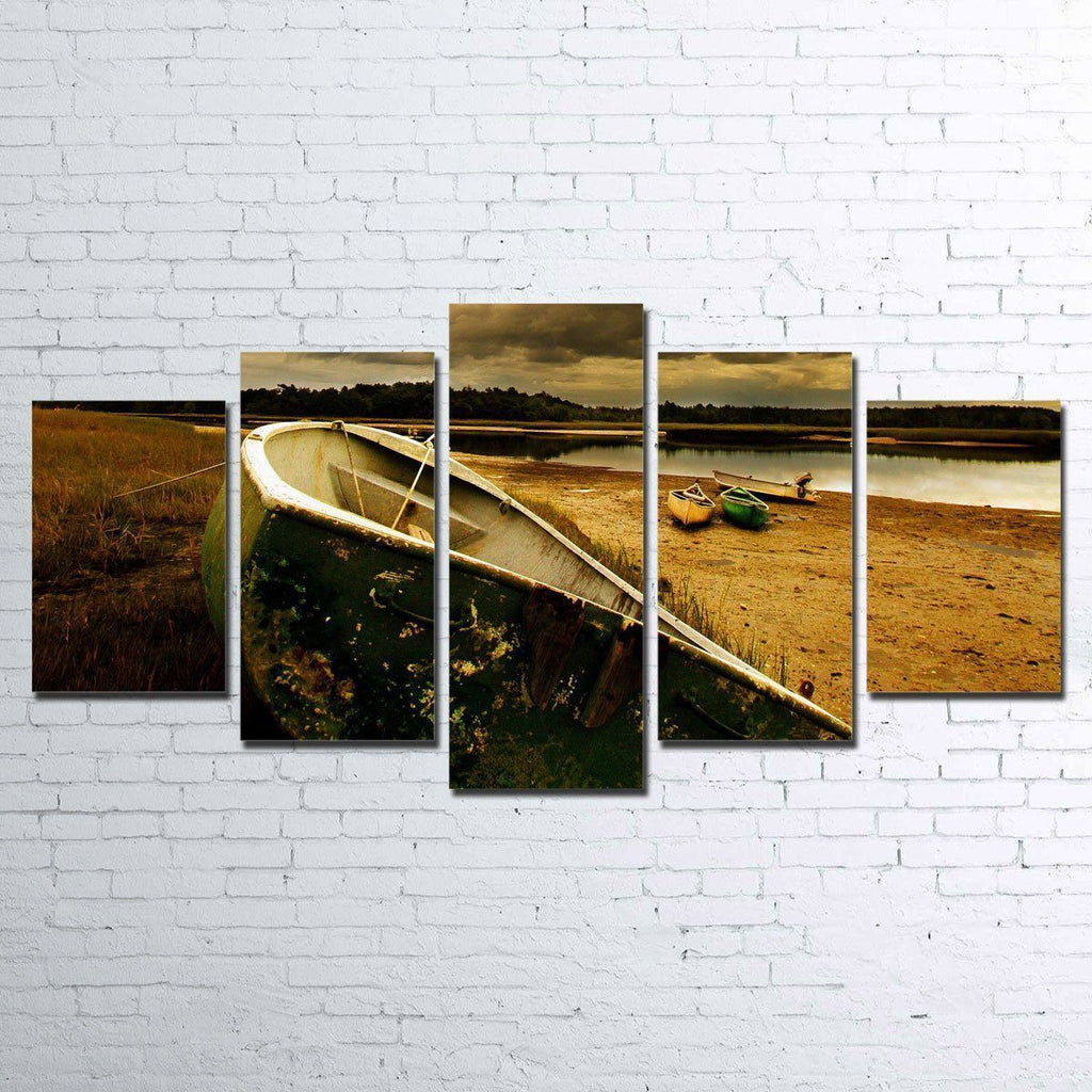 Canvas - The Old Boat 5 Piece Canvas Set