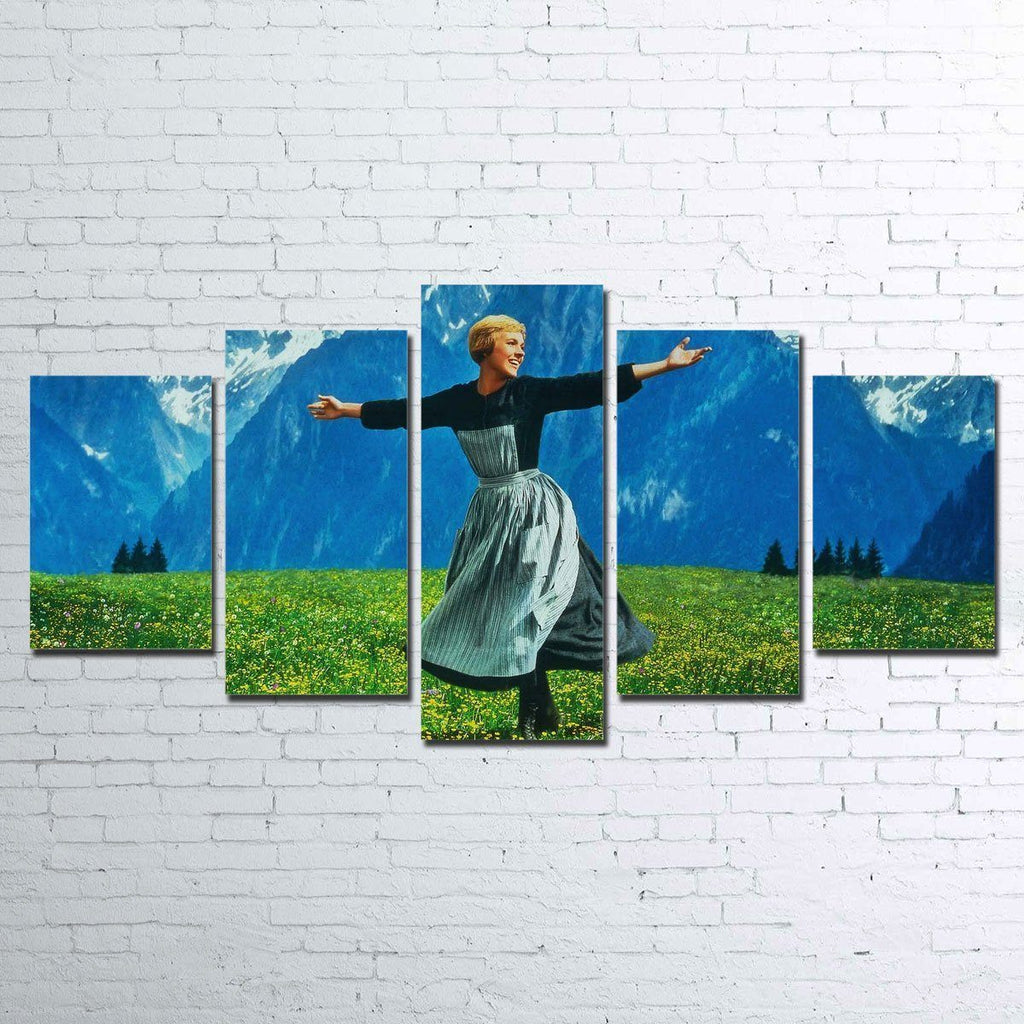 Canvas - The Sound Of Music 5 Piece Canvas Set