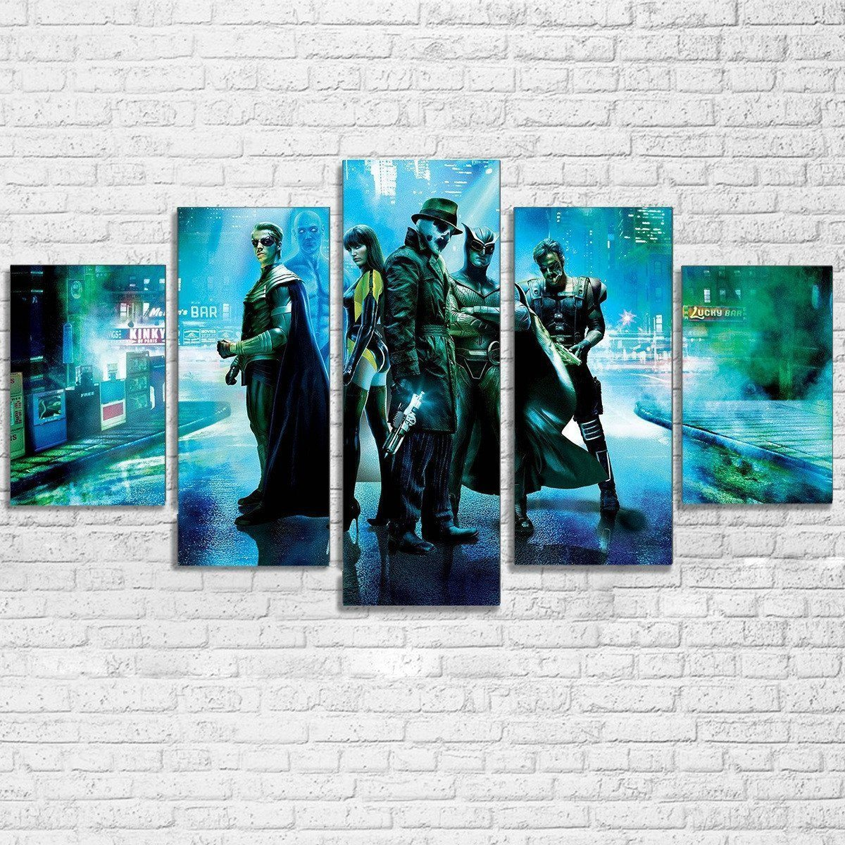 Canvas - The Watchmen 5 Piece Canvas Set