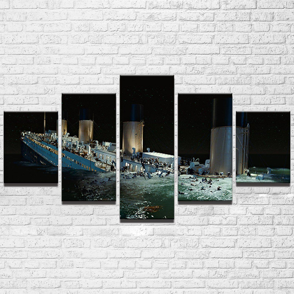 Canvas - Titanic 5 Piece Canvas