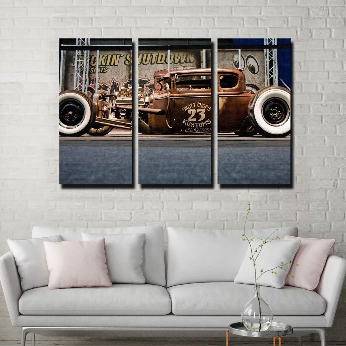 Rat Rod Canvas Set