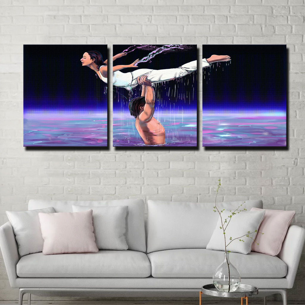 Abstract Dirty Dancing Canvas Set