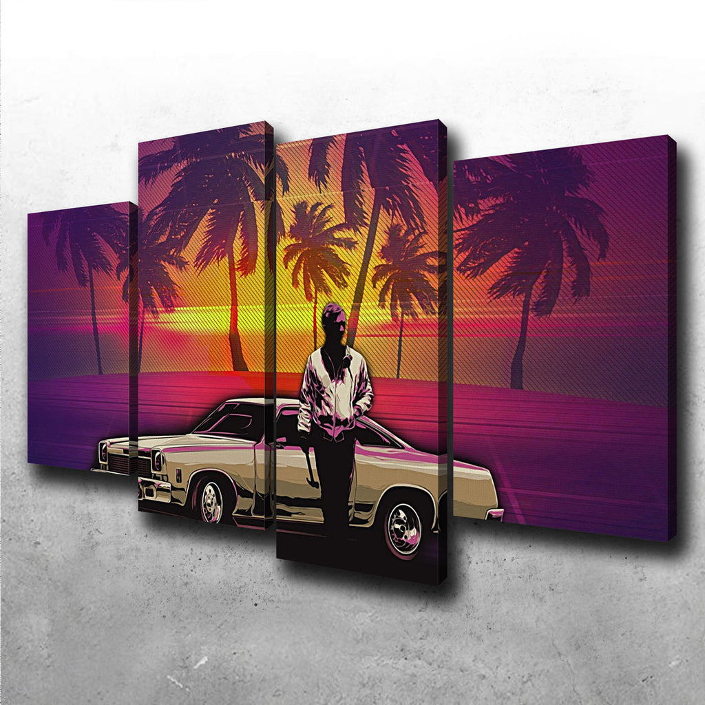 Abstract Drive Canvas Set