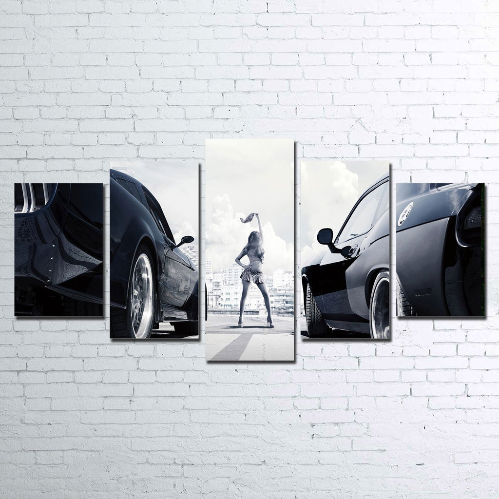 Fast & Furious 5pc Canvas Set
