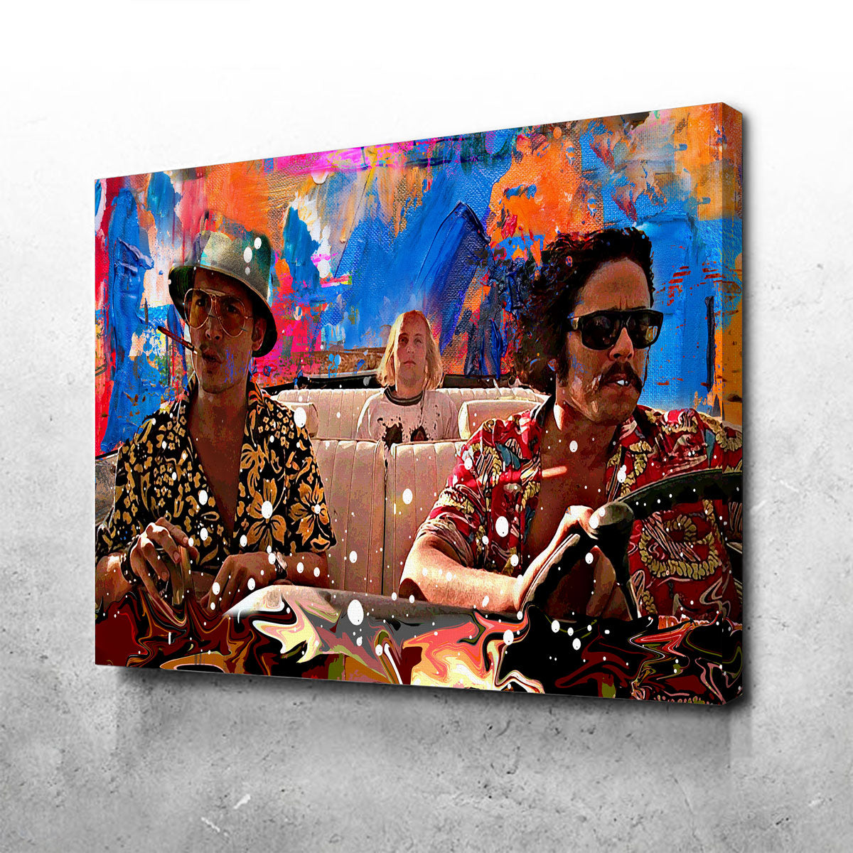 Fear and Loathing Canvas Set