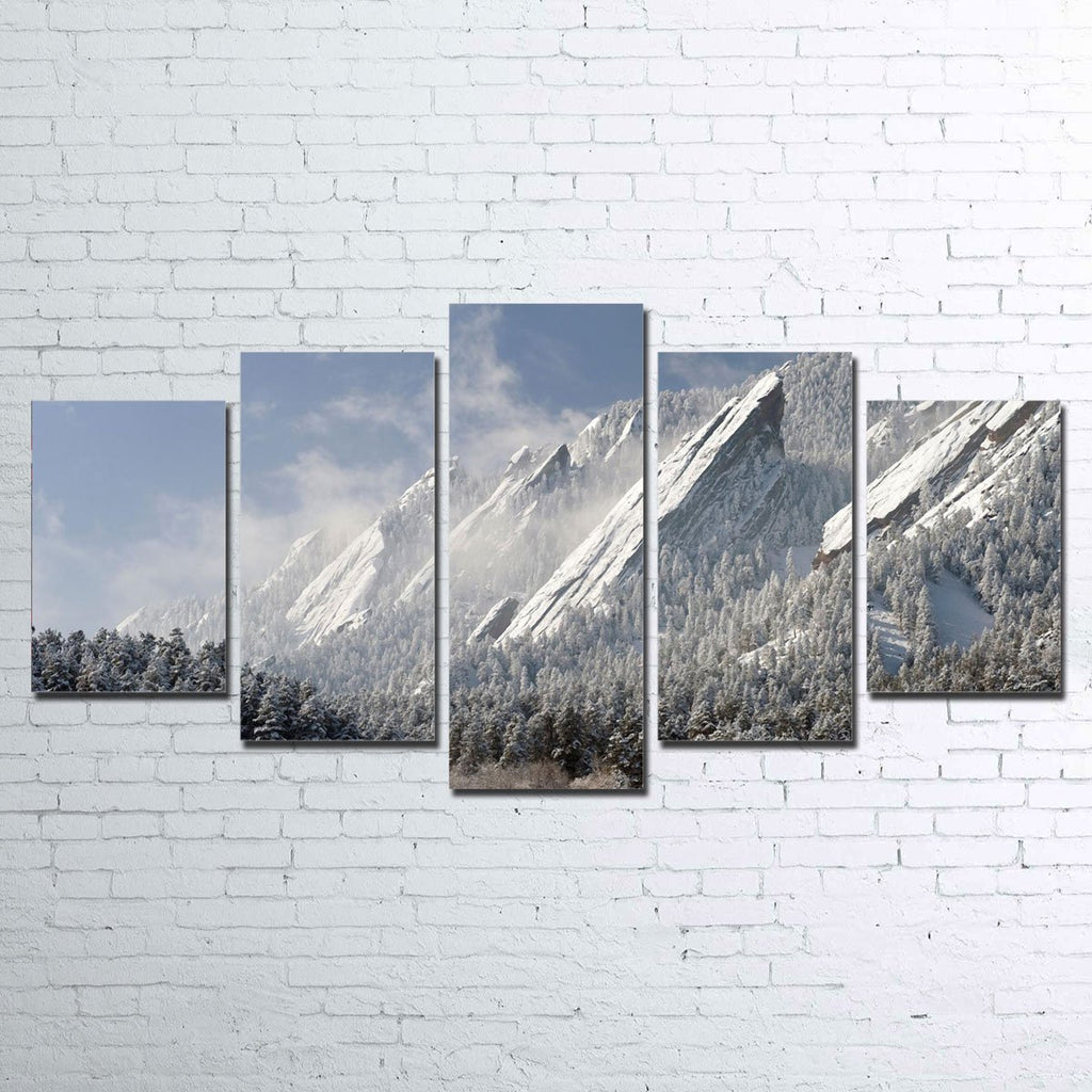 Flatirons 5 Piece Canvas Set