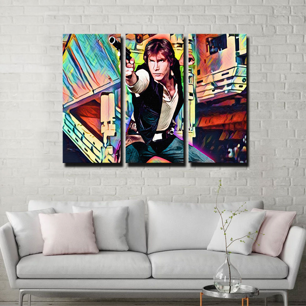 Han Solo Canvas Set