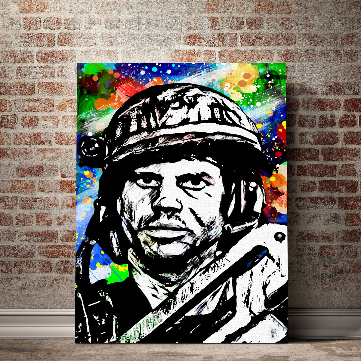 Aliens Hudson Canvas