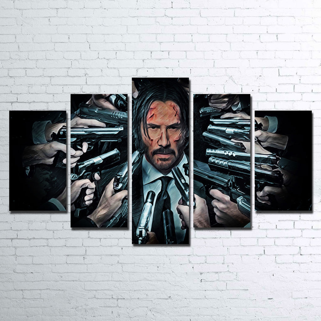 John Wick Canvas Set