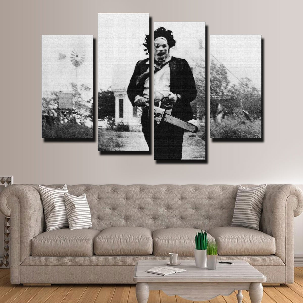 Leatherface Canvas Set