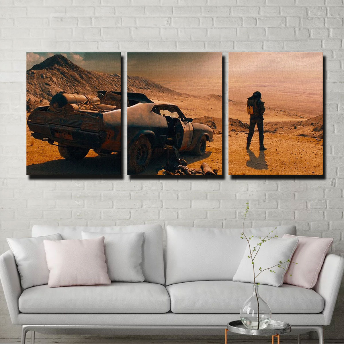 Fury Road Interceptor Canvas Set
