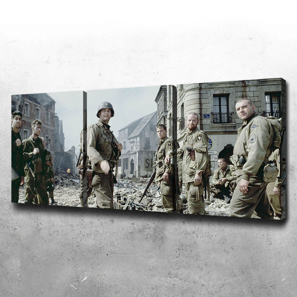 Saving Private Ryan Canvas Set