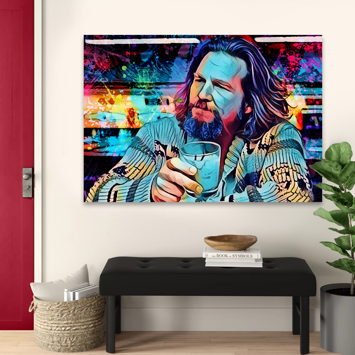 The Dude Canvas Set