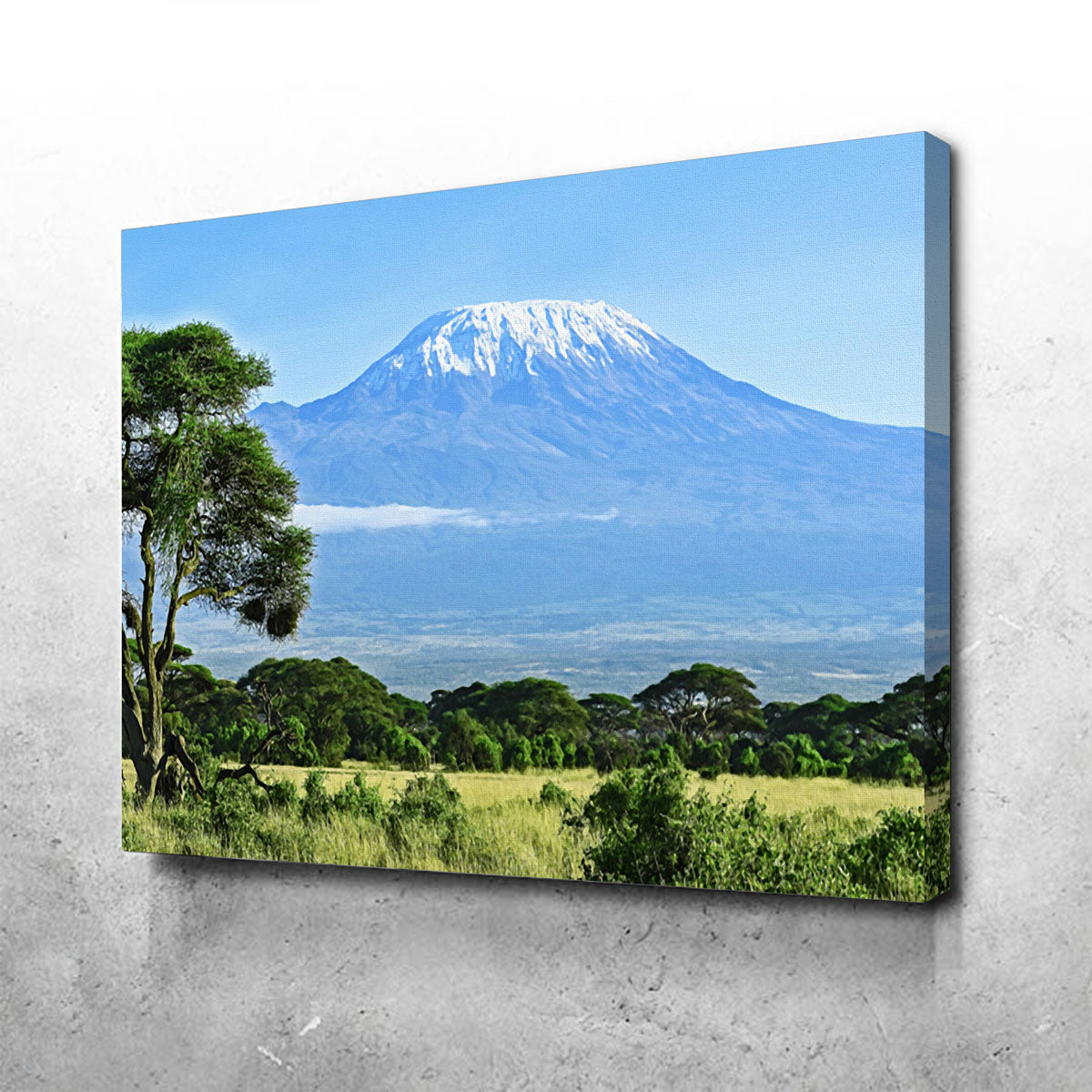 Mount Kilimanjaro Canvas Set