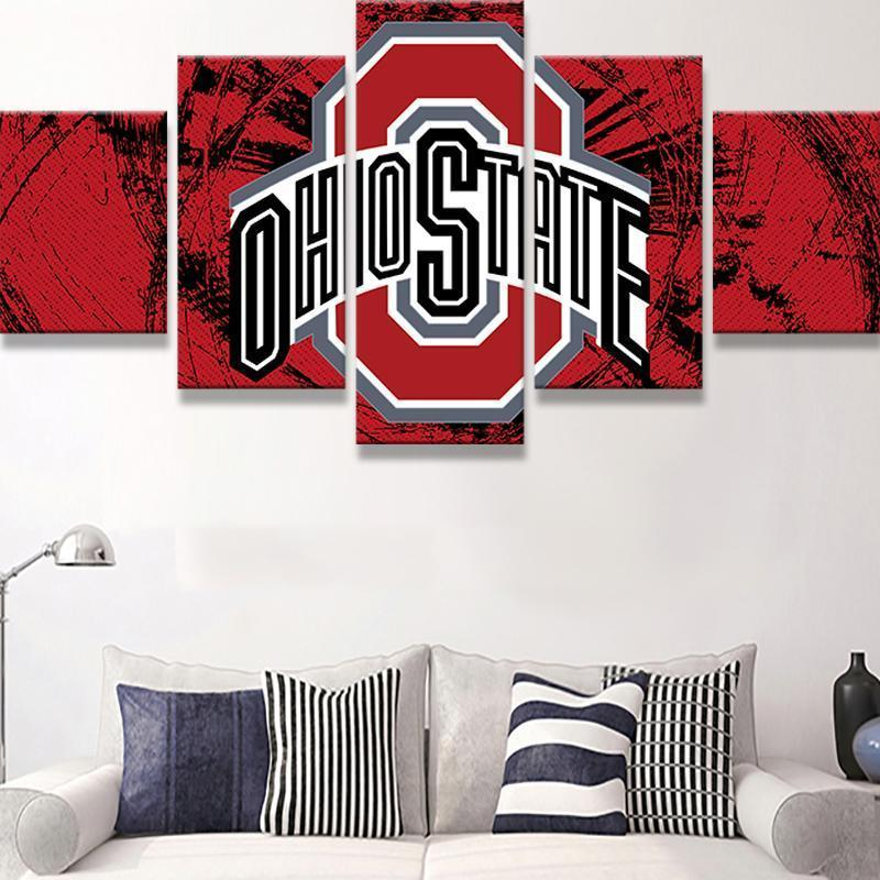 Ohio State Canvas Set