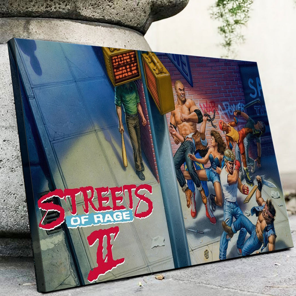 Streets of Rage 2 Canvas Set