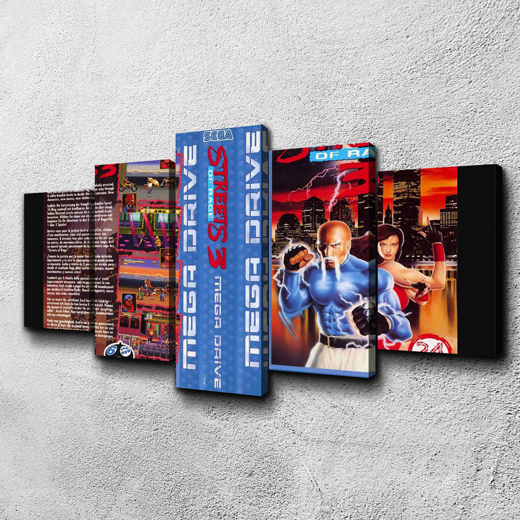Streets of Rage 3 Canvas Set