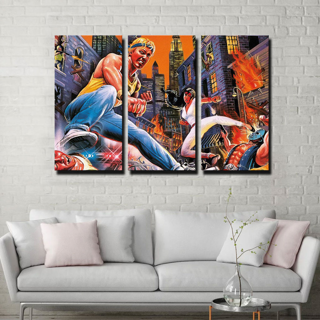 Streets of Rage Canvas Set