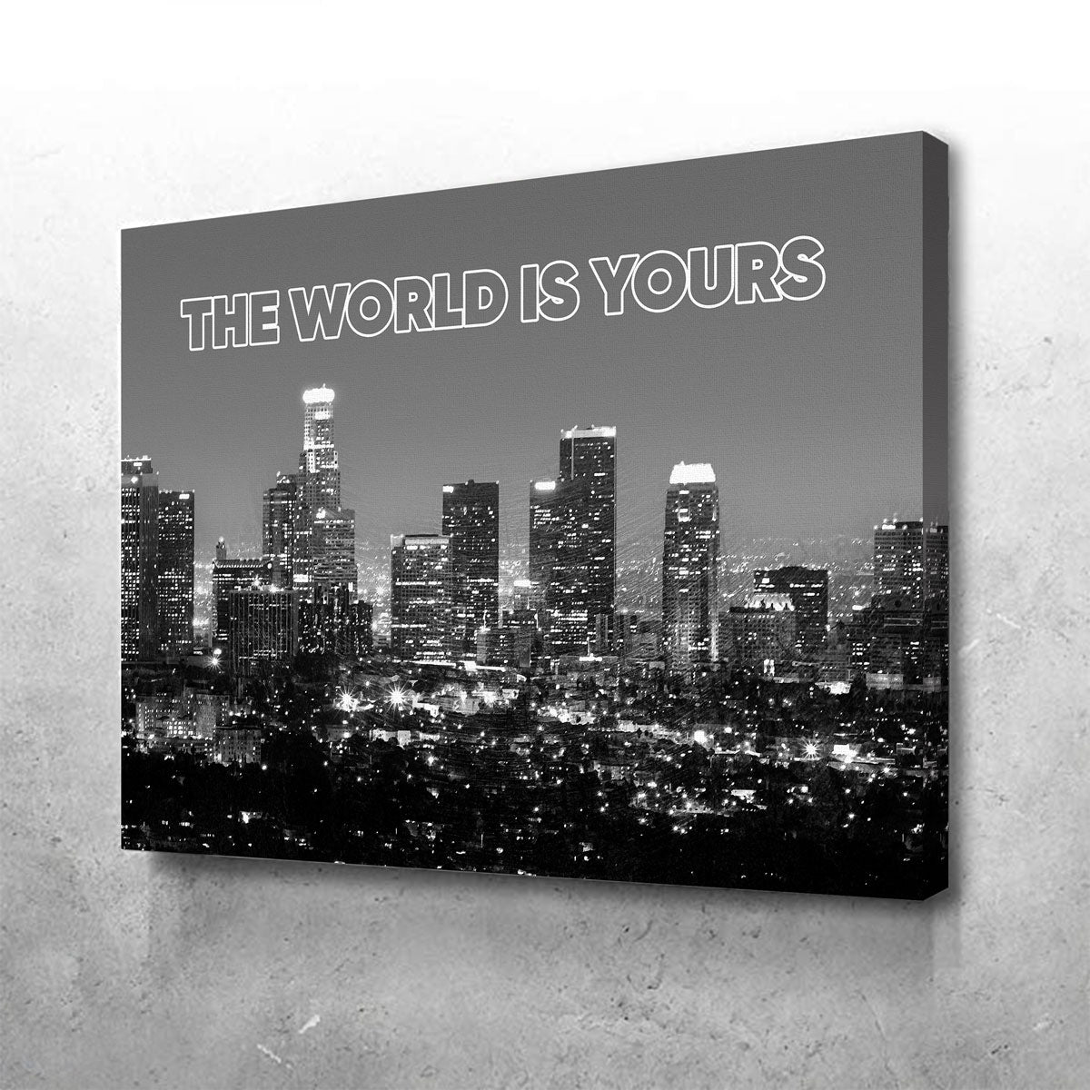 The World Is Yours Canvas Set
