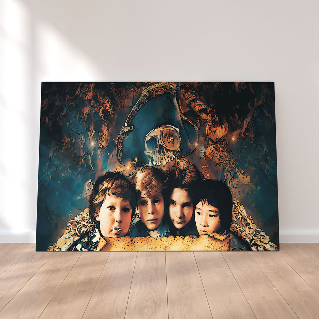 Goonies Canvas