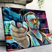 Walter Sobchak Canvas Set