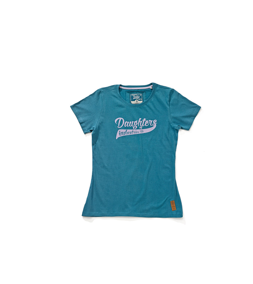 GREYISCH BLUE ATHLETIC T-SHIRT D.O.I.