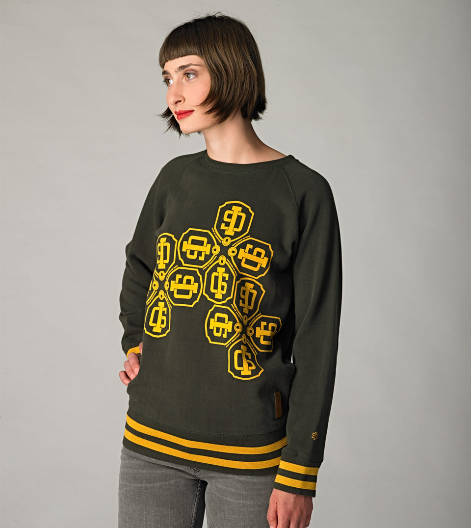 SWEATSHIRT S.O.I. GREENMAN