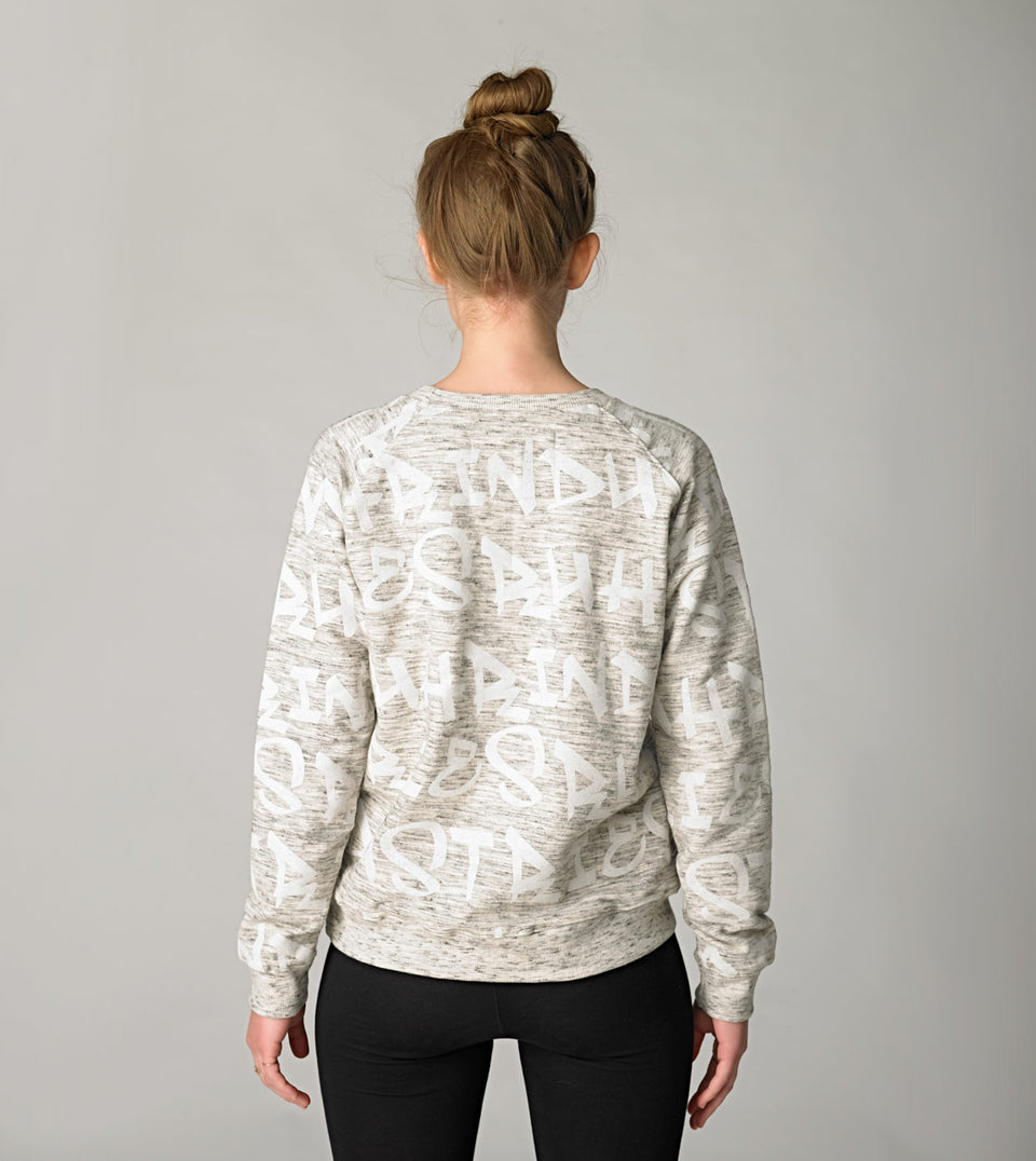 SWEATSHIRT RNDS WOMAN GREY