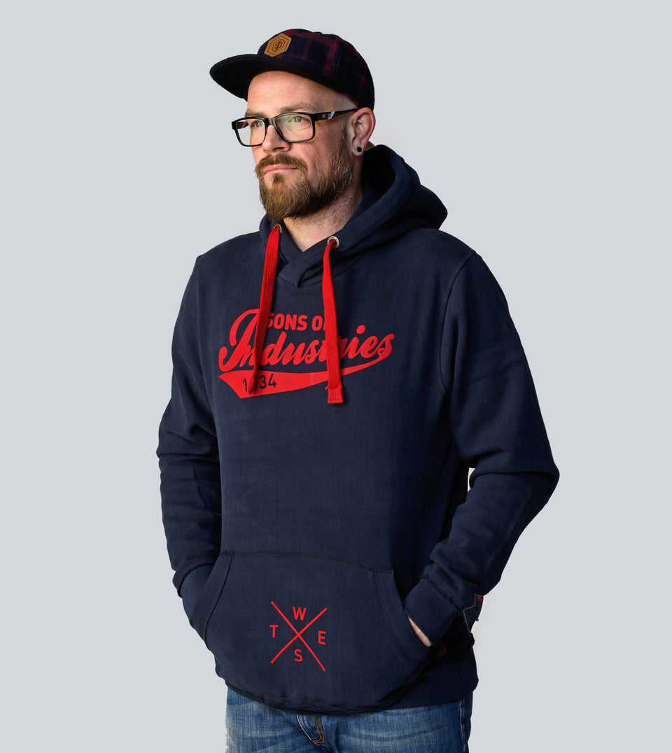 HOODY ATHLETIC S.O.I. BLUEMAN