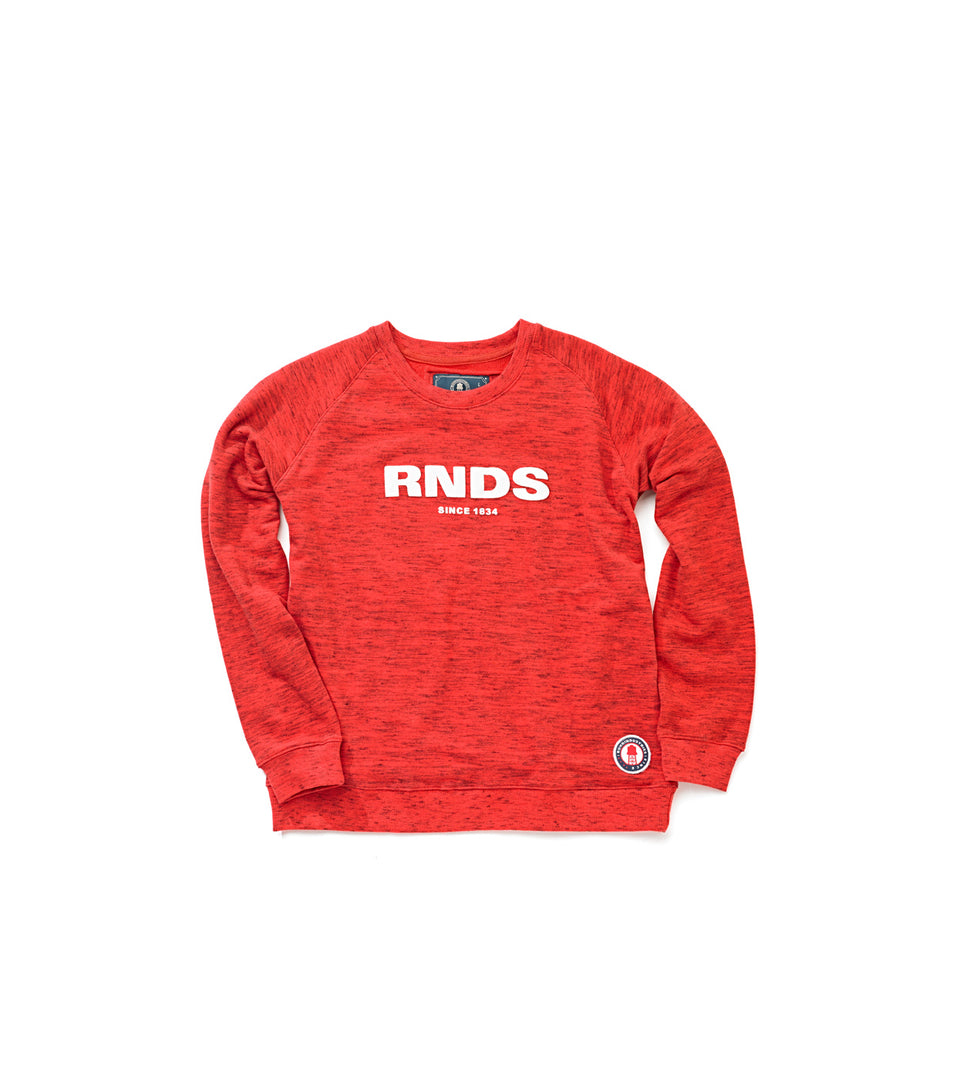 SWEATSHIRT RNDS WOMAN RED