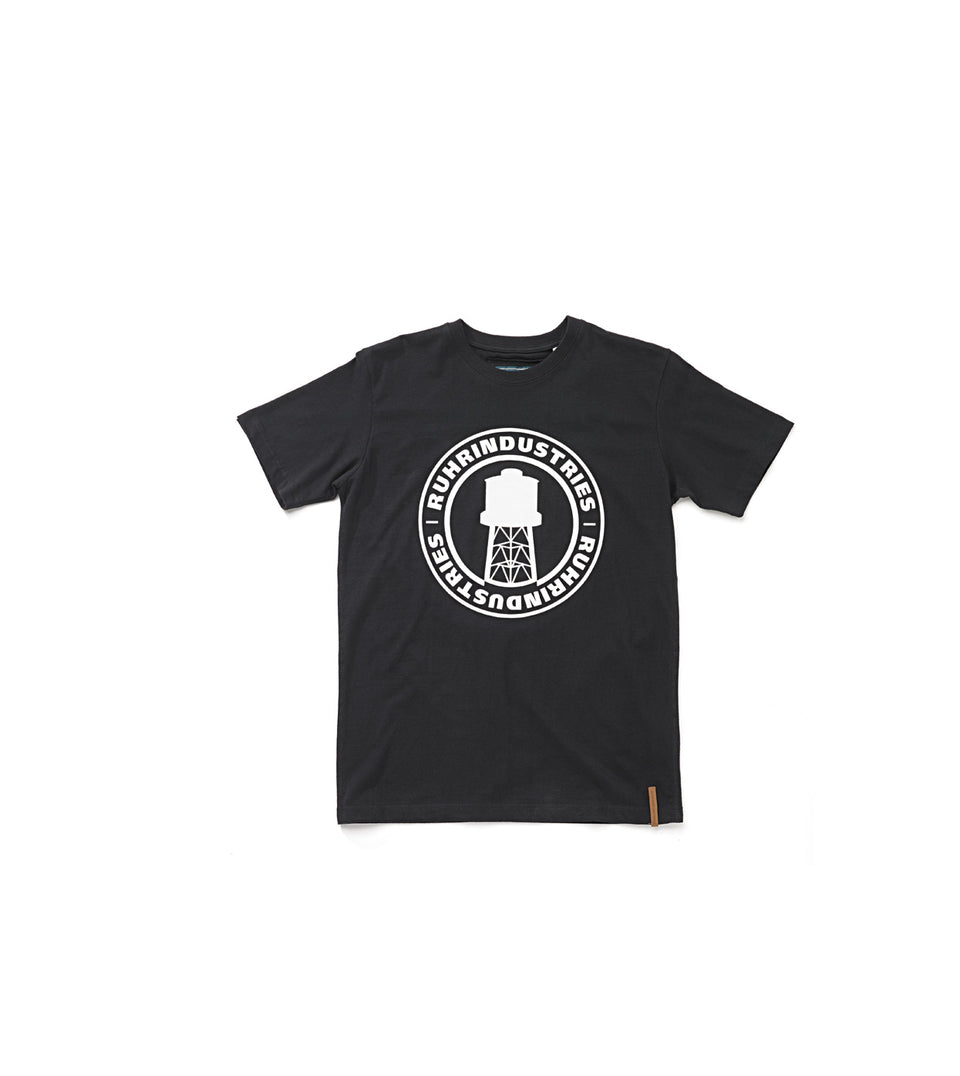 RNDS LOGO BLACK T-SHIRT