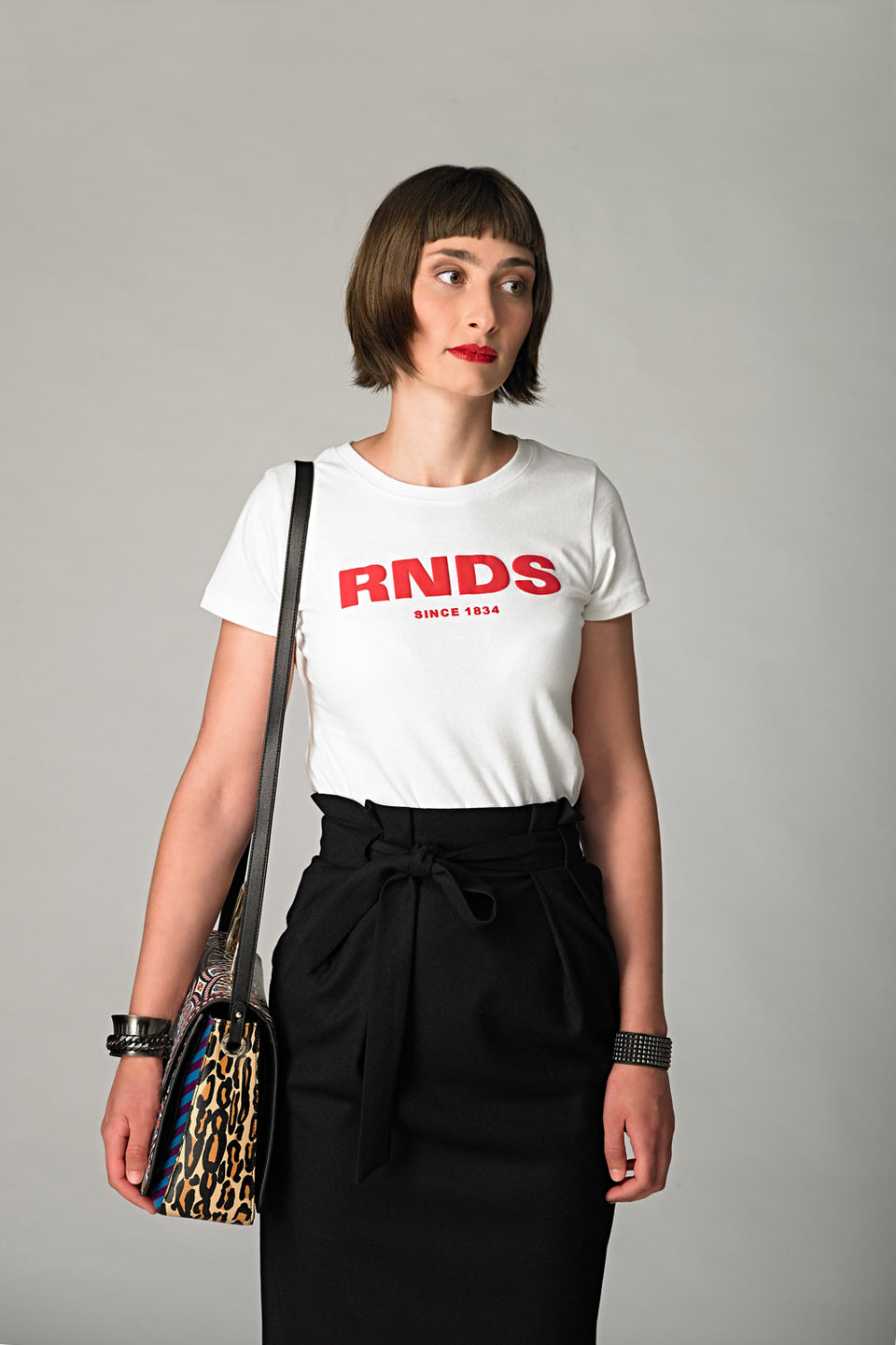 RNDS WHITE T-SHIRT