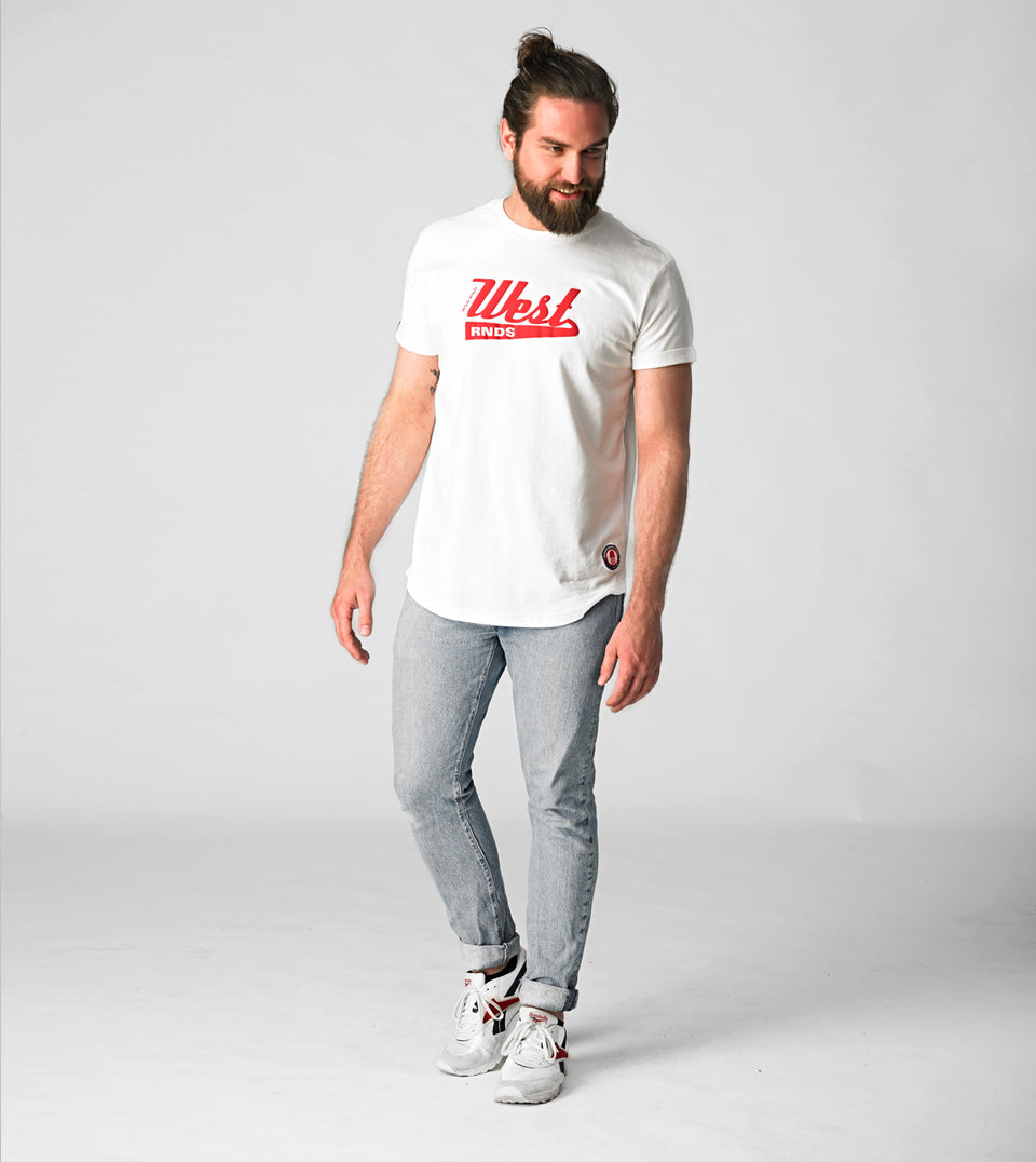 RNDS WEST WHITE T-SHIRT