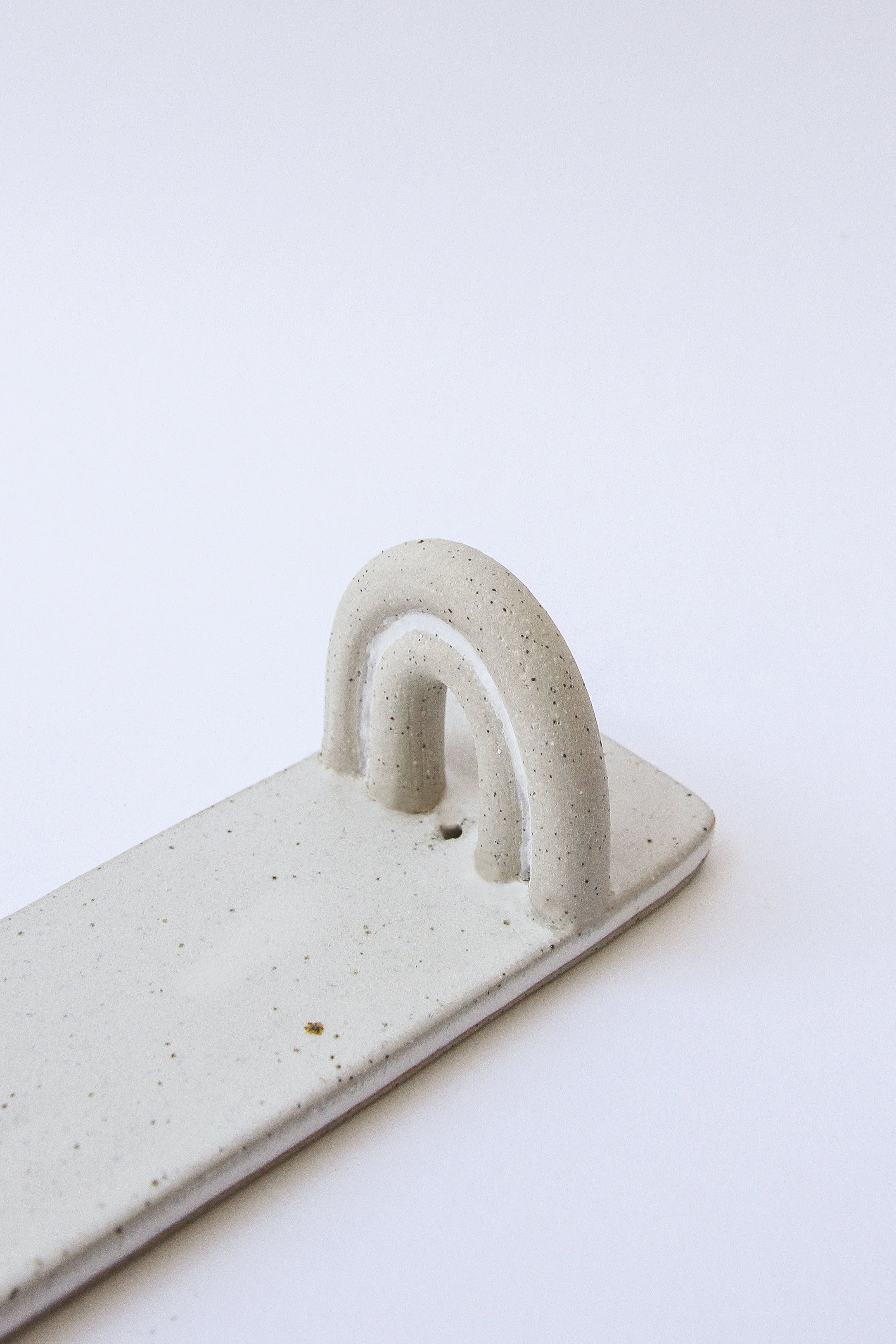Arches Incense Burner | Natural White