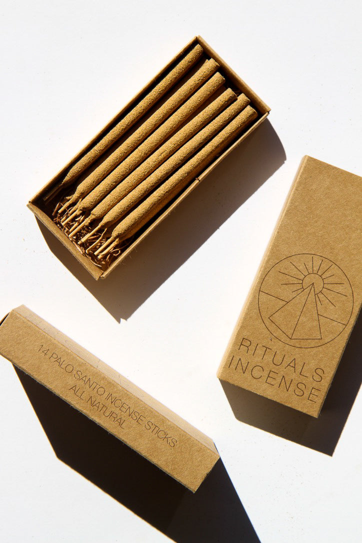 Rituals Incense | 14 Palo Santo Incense Sticks