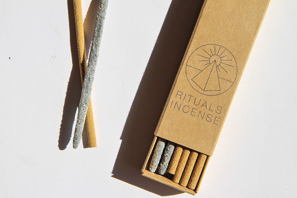 Rituals Incense | 8 Palo Santo + 4 Mayan Copal Incense Sticks