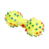 Colourful Dumbbell Chew Toy