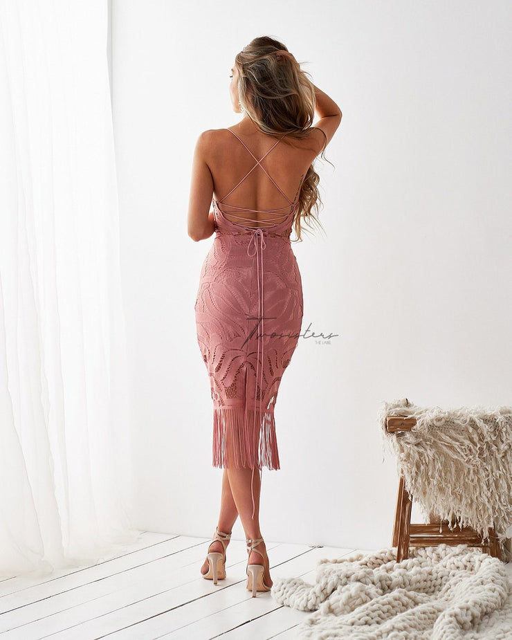 TWO SISTERS THE LABEL - KHALEESI DRESS - DUSTY PINK