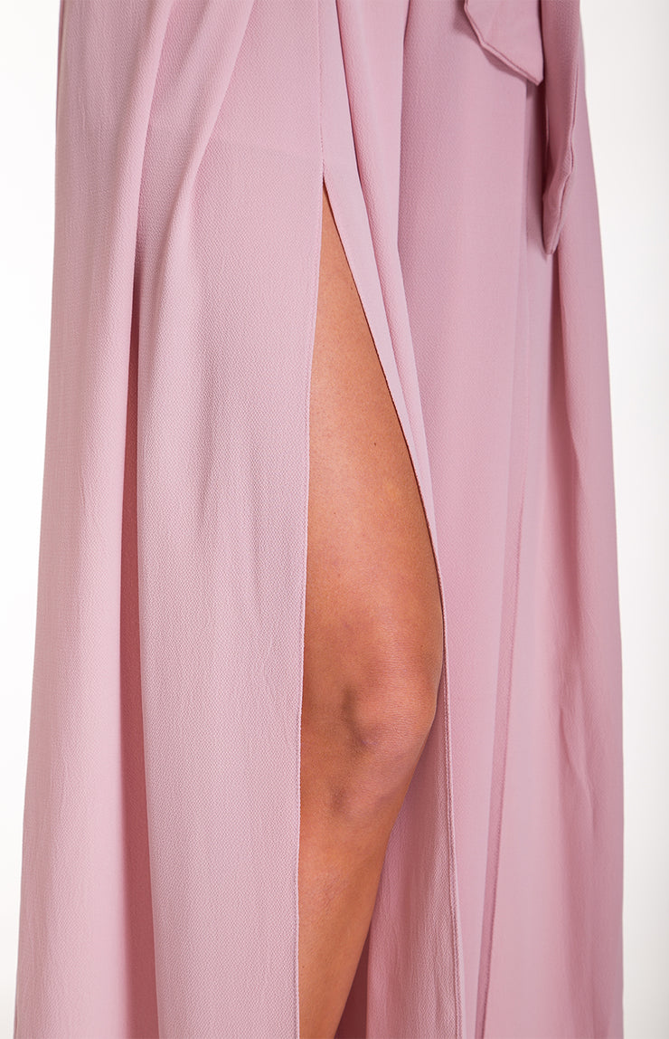 LUXE BLUSH JUMPSUIT