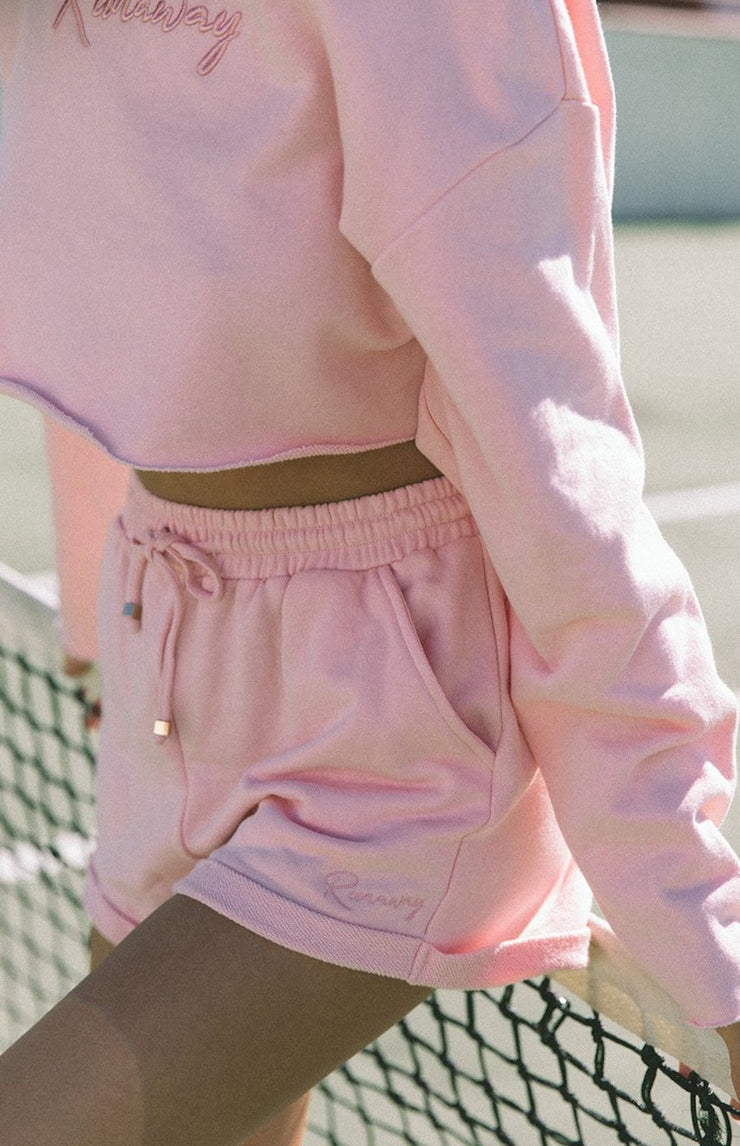 FREE FORM SHORTS - PINK
