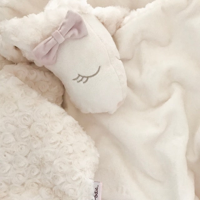 'LARA the LAMB' Lush Lovie Blanket