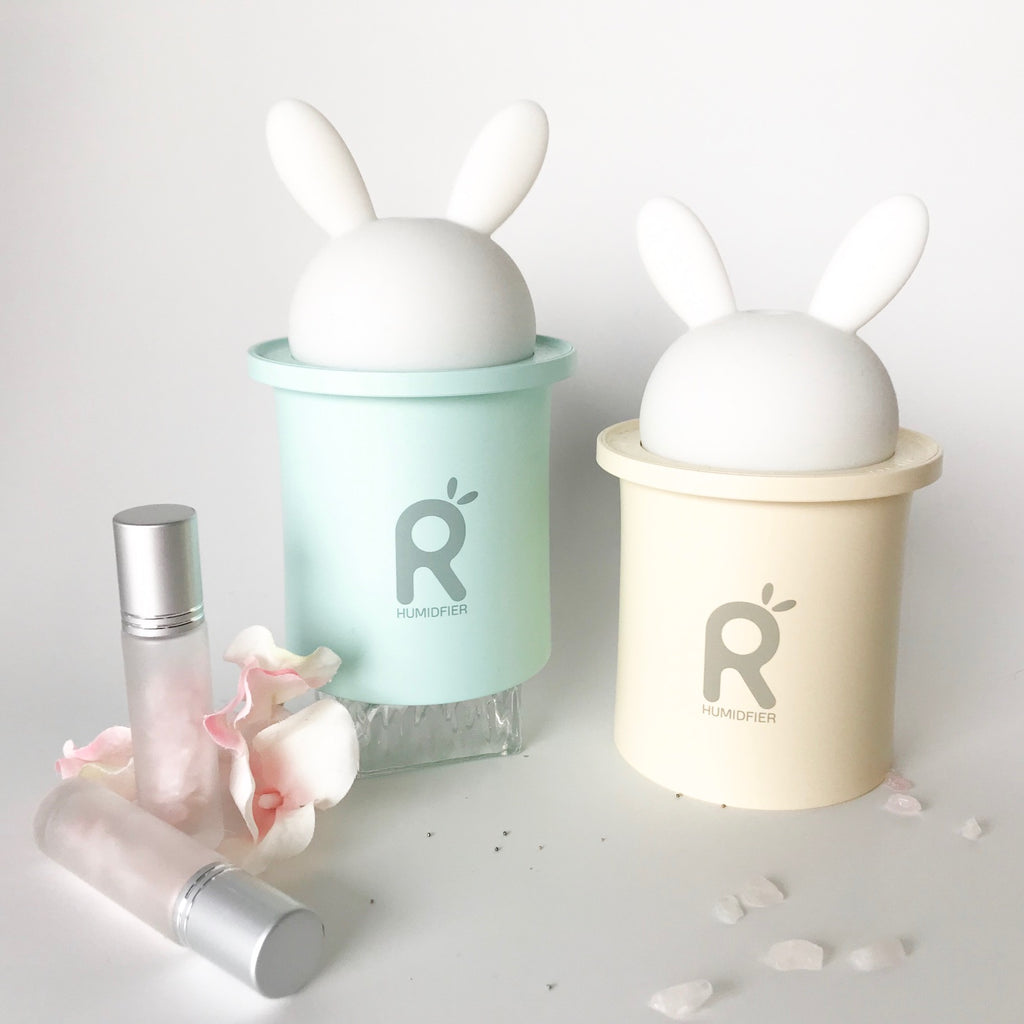 'WHITE RABBIT' Mini Essential Oil Room Diffusers