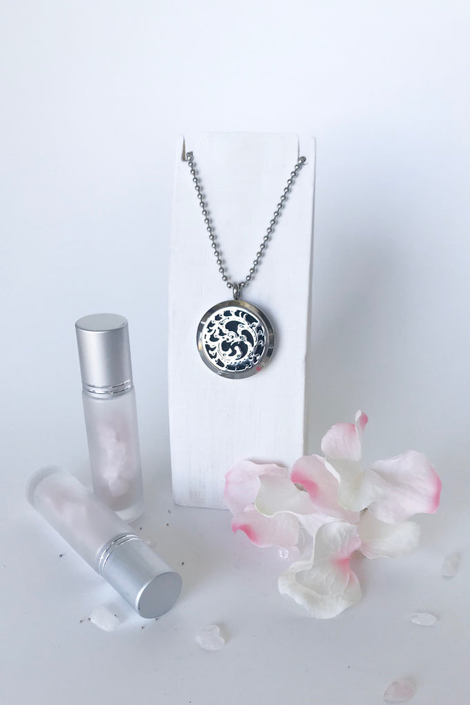 'EMBRACE' essential oil diffusing necklace